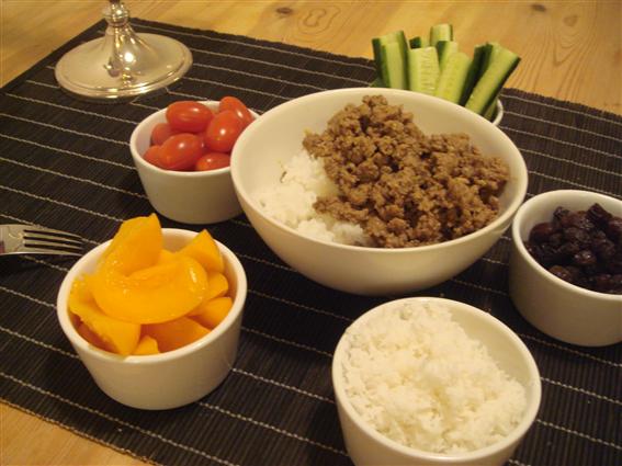 Curryfärs med kokas kokos