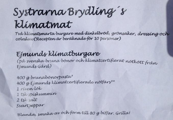 Ejmunds Klimatburgare recept låg