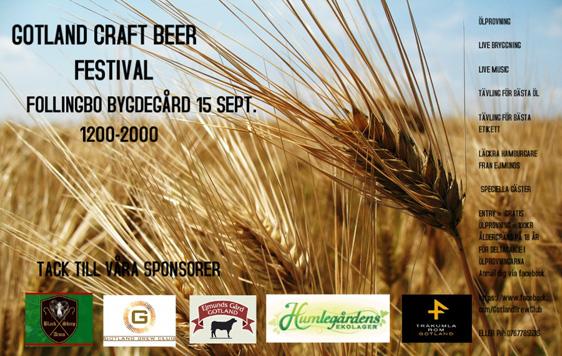 Gotland craft beer festival