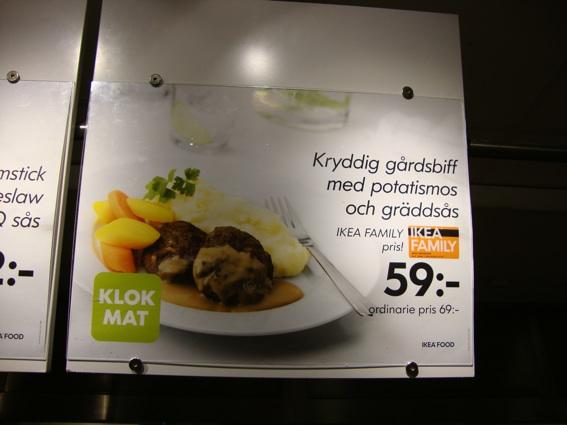 Gårdsbiff på IKEA